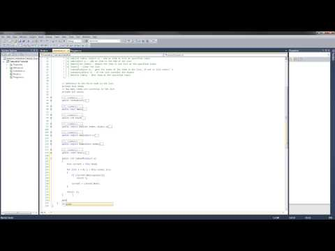 C# LinkedList Tutorial - 6 - The IndexOf and Contains methods