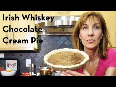 Irish Whiskey Chocolate Cream Pie