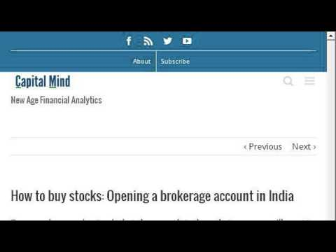 How-To Buy Shares In BSE