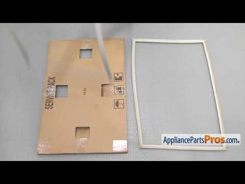 Refrigerator Freezer Door Gasket (Part #DA97-05557Y) - How To Replace