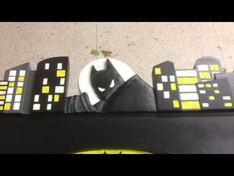 Ultimate Batman Bed Build