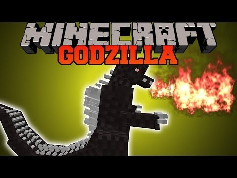 Minecraft: GODZILLA MOD (RUN FOR YOUR LIFE, NOTHING WILL SURVIVE!) Mod Showcase
