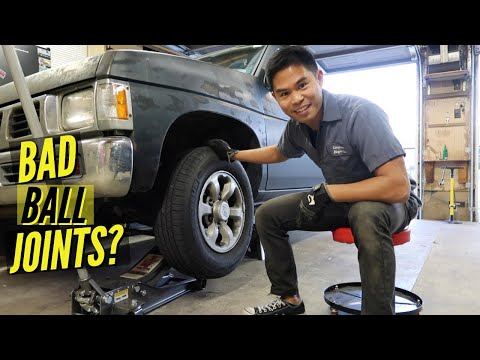 HOW TO: Replace Worn Ball Joints!