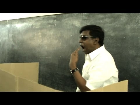 Tamil Nadu Election 2016 - Actor Vadivelu's Funny Behaviour At Polling Booth