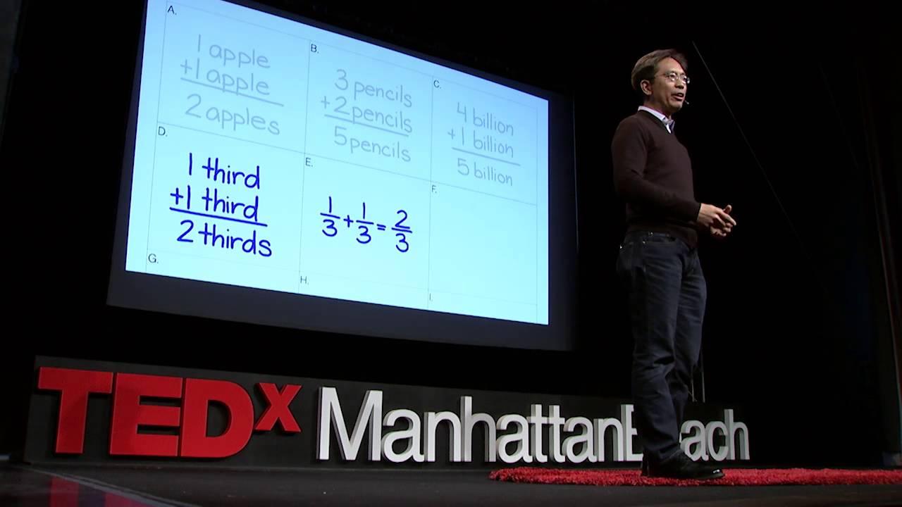 Math isn't hard, it's a language   Randy Palisoc   TEDxManhattanBeach