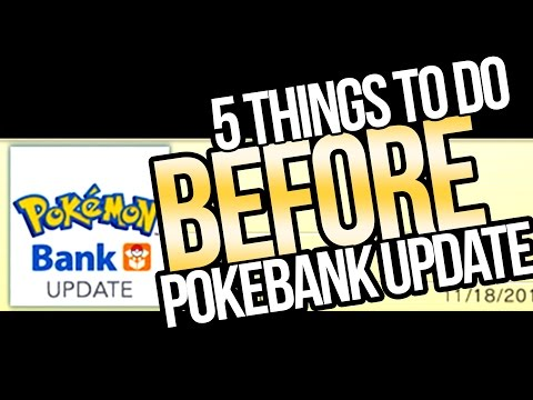 5 Things to Do BEFORE Pokemon Bank Update 2017 for Sun and Moon | Austin John Plays