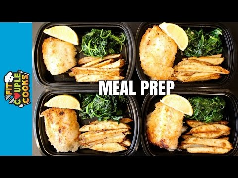 How to Meal Prep - Ep. 39 - FISH AND CHIPS ($3/Meal)