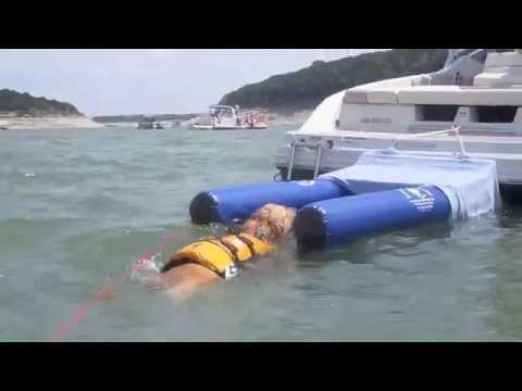 Dog On Water Ramp