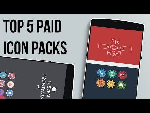 Top 5 Paid Icon Packs - November