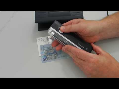 Handheld UV Fake Money Detector / How To Spot A Fake Polymer Bank Note