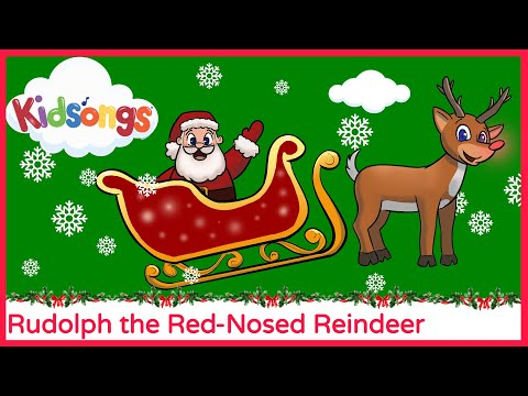 Rudolph The Red Nosed Reindeer | part 2  | All I Want For Christmas | Kidsongs TV Show | PBS Kids
