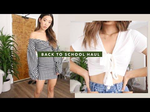 Back to School Clothing Haul