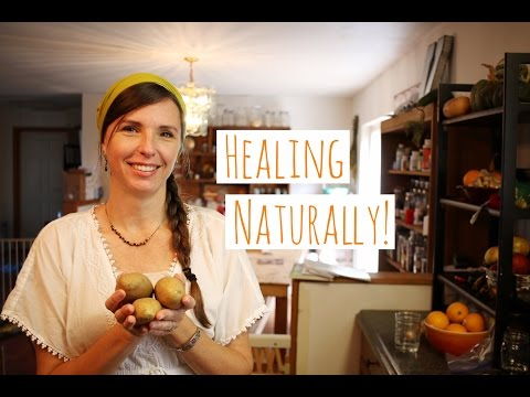 HEALING WITH POTATOES - POTATO POULTICE