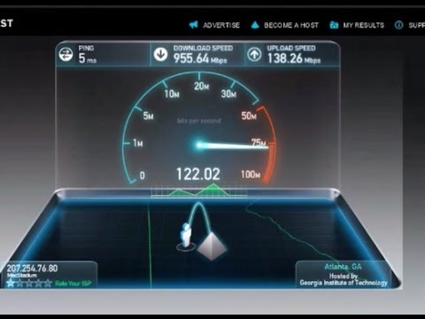 How to increase your  internet download and upload speed upto 900 mbps
