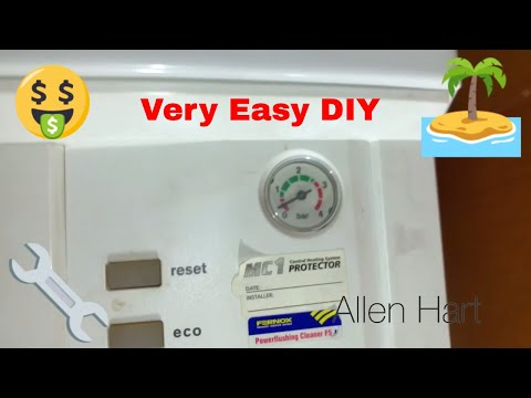 How to top up your Worcester Bosch Boiler with an Internal Filling Key