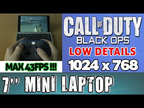 1# GPD POCKET Call of Duty: Black Ops (PC) Portable Handheld Gaming Mini PC Intel X7 Z8750