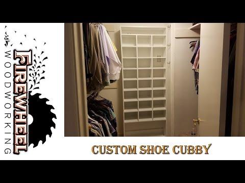 Custom Shoe Cubby