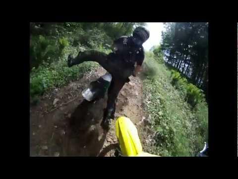 GoPro: Dirt Bike Trail Riding Crash