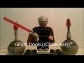 Lego Count Dooku (clone wars , LosečekTV)