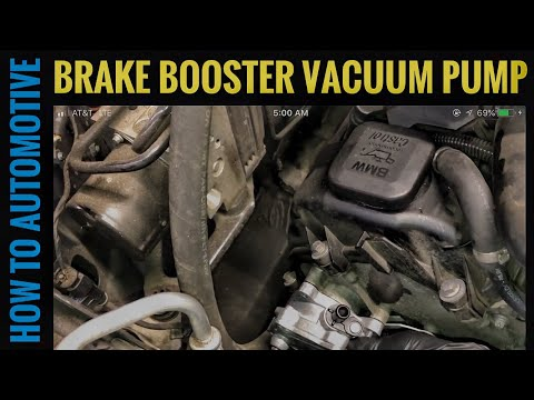How to Replace the Brake Booster Vacuum Pump on a 2007-2013 BMW X5 E70 with 4.8L Engine