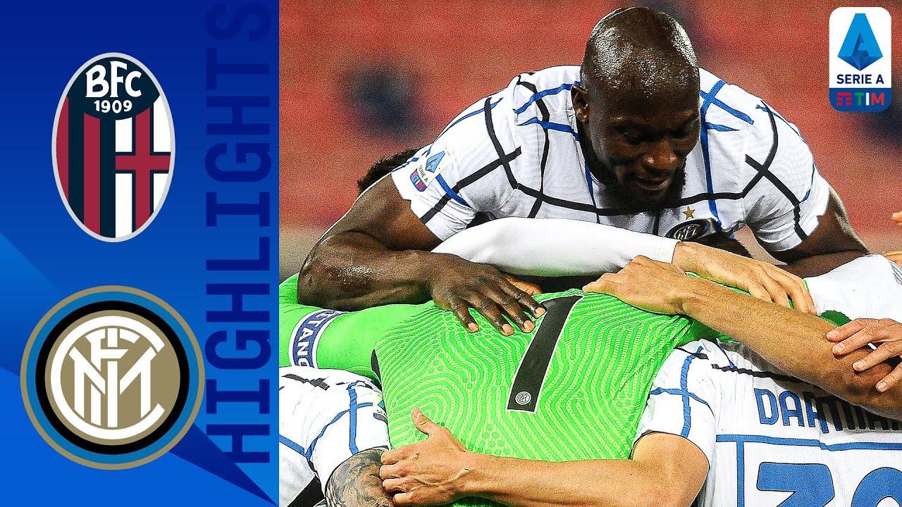 Bologna 0-1 Inter | Lukaku Helps Inter Maintain Strong Form | Serie A TIM
