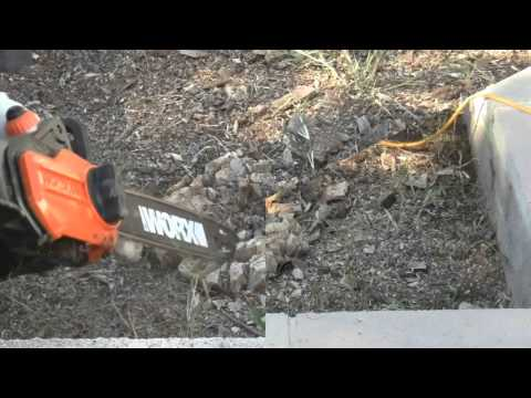 Easy Stump Removal using Stump Out