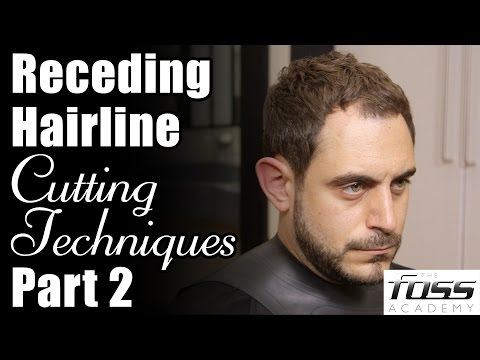 Receding Hairline Cutting Techniques - Part 2