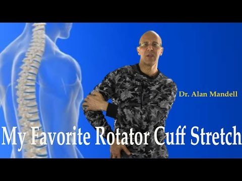 My Favorite Rotator Cuff Stretch (Frozen Shoulder, Bursitis, Shoulder Pain) - Dr Mandell