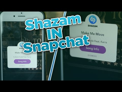 Identify Music In Snapchat - Music Snapchat Hack - Shazam In Snapchat (v9.45.0)