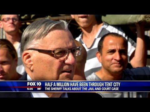 Arpaio's Tent City sets a new record; 500,000 inmates