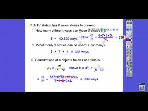 Permutations and Probability - Module 21.2 (a)