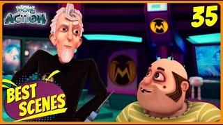 BEST SCENES of VIR THE ROBOT BOY | Animated Series For Kids | #35 | WowKidz Action