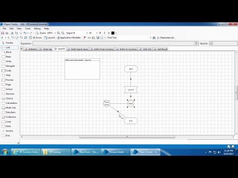 Blue Prism Video Tutorial | 025 | Static and dynamic wait