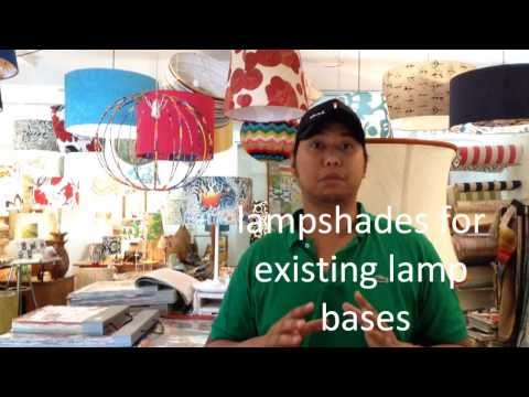 How to choose a lamp shade for your existing lamp base