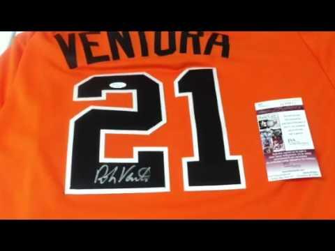 Robin Ventura Signed Oklahoma State Baseball Jersey St. JSA COA White Sox