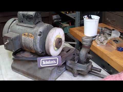 Restoring a LISLE Drill Grinder pt 1Tips #460 tubalcain