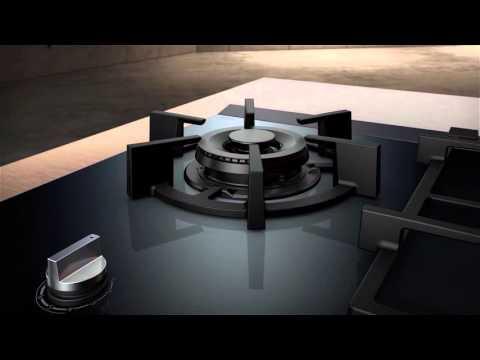 Siemens Gas Cooktop with dualWok Burner