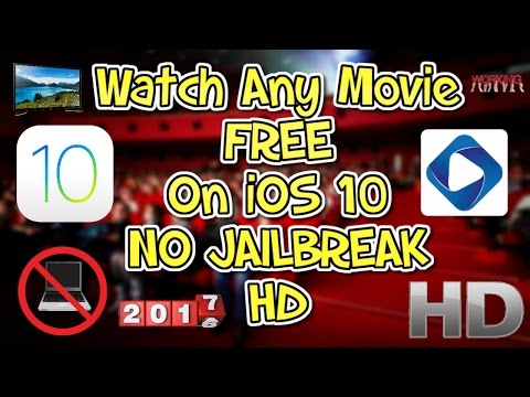 HOW TO WATCH ANY MOVIE FREE - IOS 10, NO JAILBREAK, NO COMPUTER!!