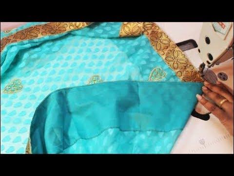 சேலை False தைப்பது   எப்படி |  How To Stitch Saree False