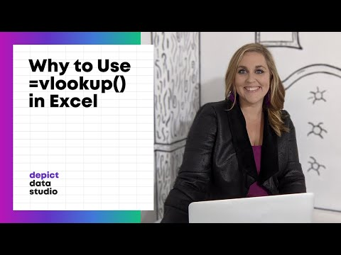 Why to use the vlookup function in Excel