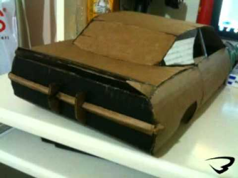 HOW TO MAKE A PAPER CAMARO SS BANDIRMA RC MODEL