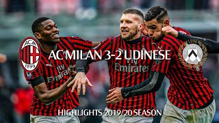 Highlights   AC Milan 3-2 Udinese   Matchday 20 Serie A TIM 2019/20