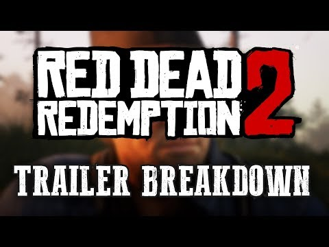 Red Dead Redemption 2 NEW Trailer Breakdown!! (Characters, Settings, and More!)