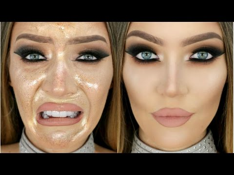 How to STOP Oily Cakey Foundation & Make Your Foundation Last All Day | STEPHANIE LANGE