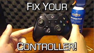 How To Fix Sticky Or Broken Analog Sticks Stick Drift Solution Xbox O