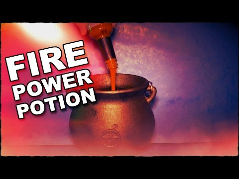 How To Make A Fire Power Potion
