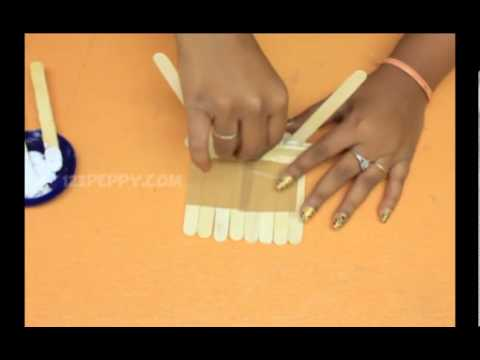 How to Make a Popsicle Chair