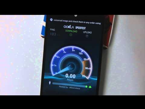 CricketUsers.com - Nexus 5 on Cricket Wireless - HSPA Speed Test vs T-mobile