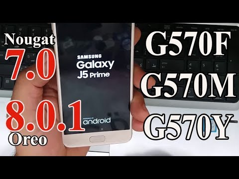 How to Update Samsung J5 Prime to android 7.0 nougat (4 Filles Offical Firmware) ᴴᴰ
