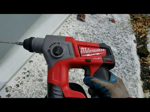 Milwaukee Cordless M12 Fuel SDS Hammer Drill Review